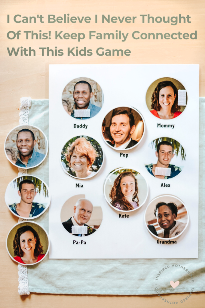 A great practical way for kids to learn about family members who live far away. You can keep in touch and build relationship even if your family doesn't live close.