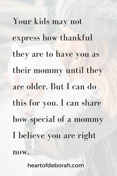 Support your fellow moms in motherhood! Let's encourage each other instead of having mommy wars. #momlife #motherhood #encouragement #friendship