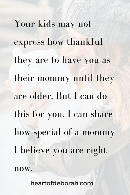 Support your fellow moms in motherhood! Let's encourage each other instead of having mommy wars. #momlife #motherhood #encouragement #friendship