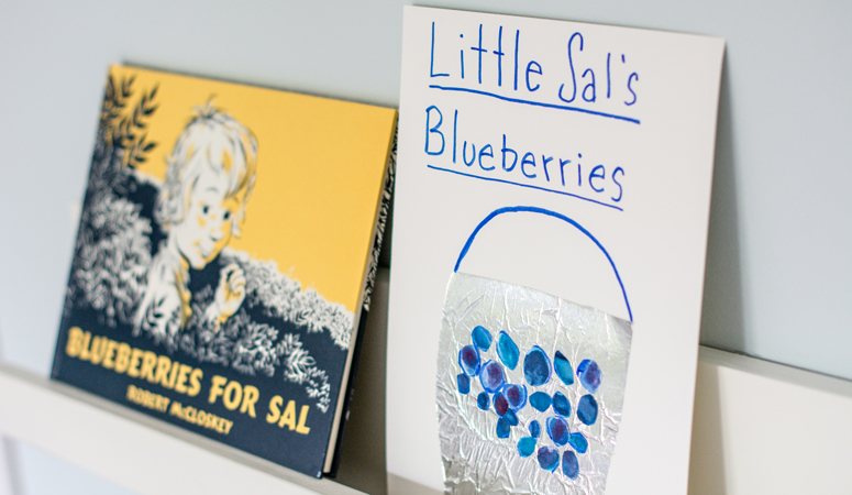 Adorable Blueberries for Sal Craft Activity