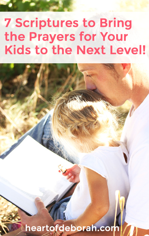 Speaking blessings over your family is a big responsibility! Do this everyday with these 7 powerful scriptures to speak over your child. #christianparenting #scripture #prayer #parenting