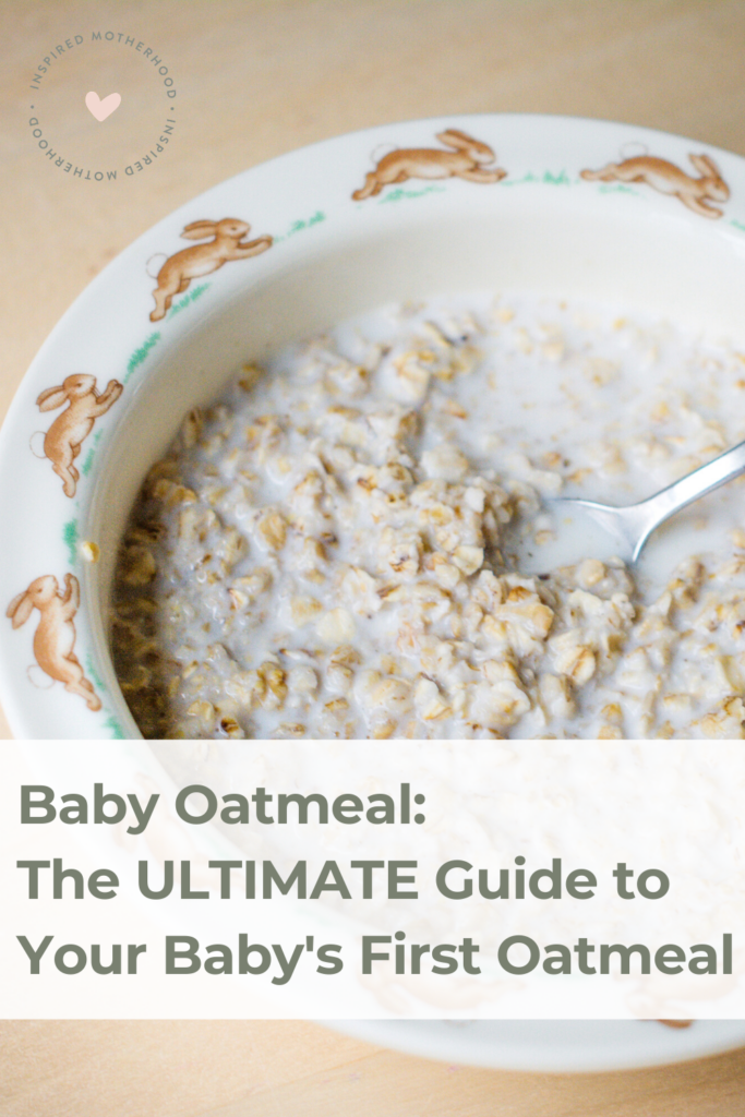Every wonder the difference between baby oatmeal and regular oatmeal? This article explains it all! Also suggest what is the best oatmeal to give to your baby as a first food.
