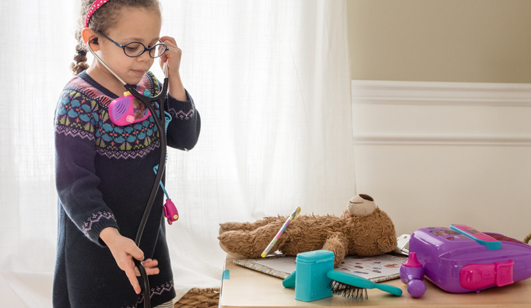 Make Your Own Pretend Play Doctor's Office with Doc McStuffins