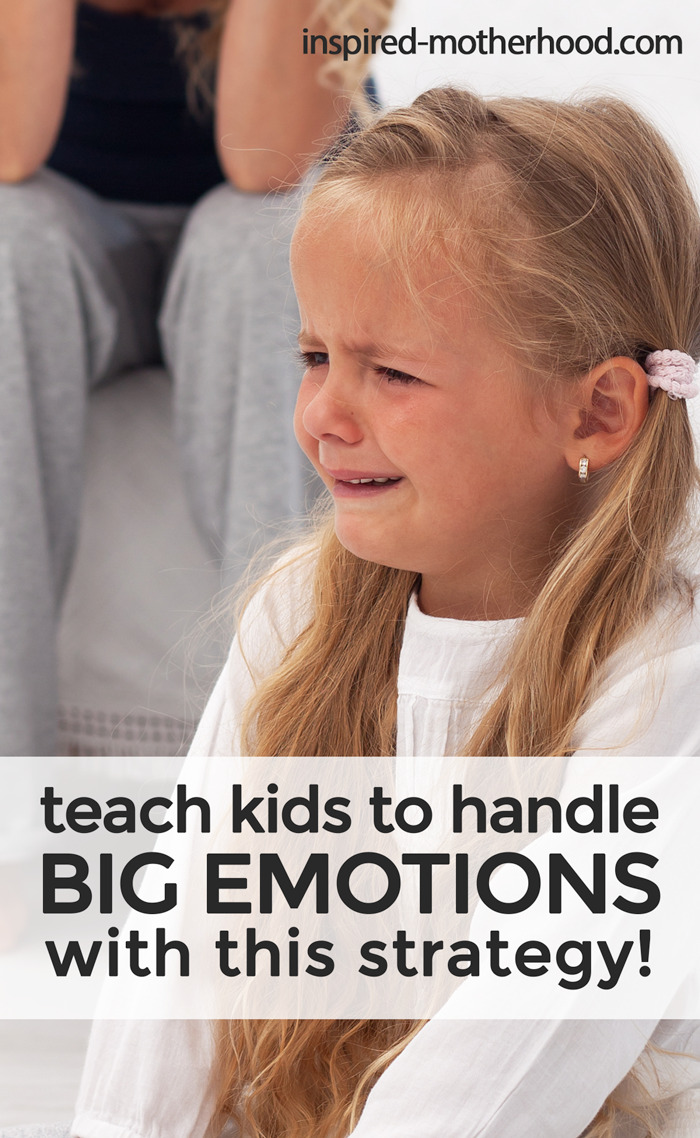 How to Help Kids Express Big Feelings! It's not easy when your child has a public meltdown. Here is a specific strategy for parents to teach their kids who have BIG emotions. Find an appropriate way to express negative emotions by using I-Statements for kids.