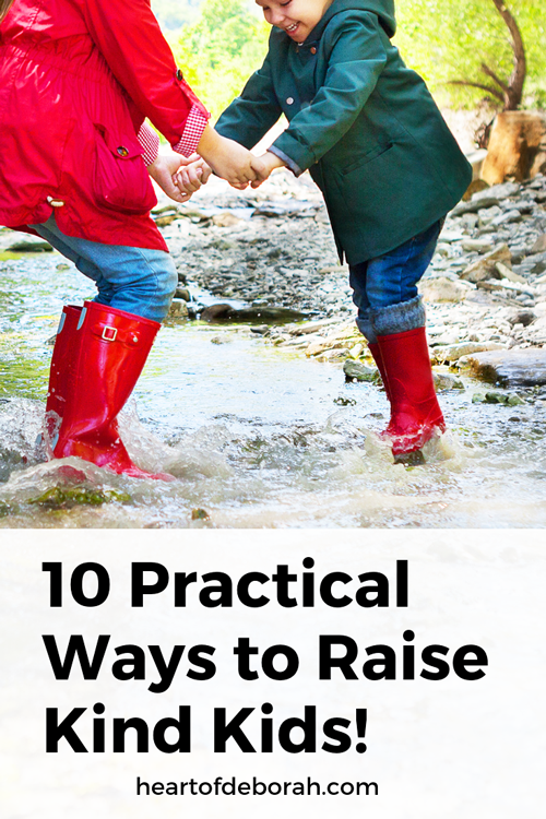 Looking for practical activities to raise kind kids? Here are 10 ways to encouragement kindness and compassion in your children.