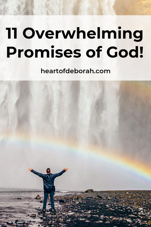 The promises of God are bountiful in the Bible! We need to learn how to pray them and claim them in our lives. Live life abundantly!
