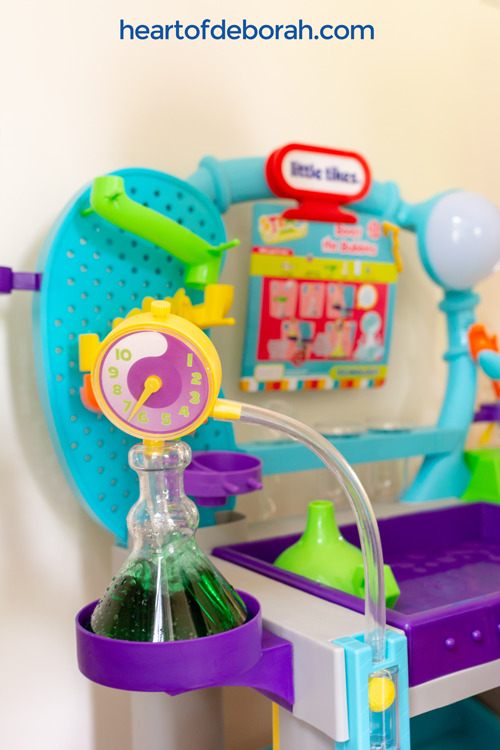 This toy is so much fun!! What a great educational toy for preschoolers who love hands-on play.