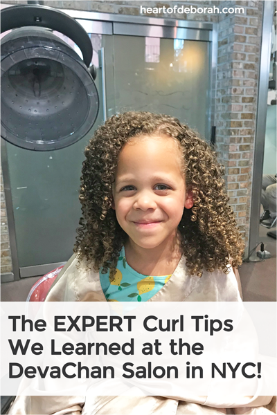 We recently visited the DevaChan salon in NYC and learned so much about caring for kid's curly hair. Read our top 4 takeaways!