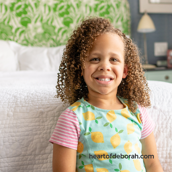 Kid's curly hair tips from the experts at the DevaChan salon in NYC!