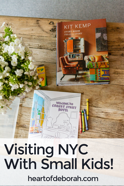 Thinking of traveling to NYC with small kids? Read how you can make the trip smoother and find REST on your trip.