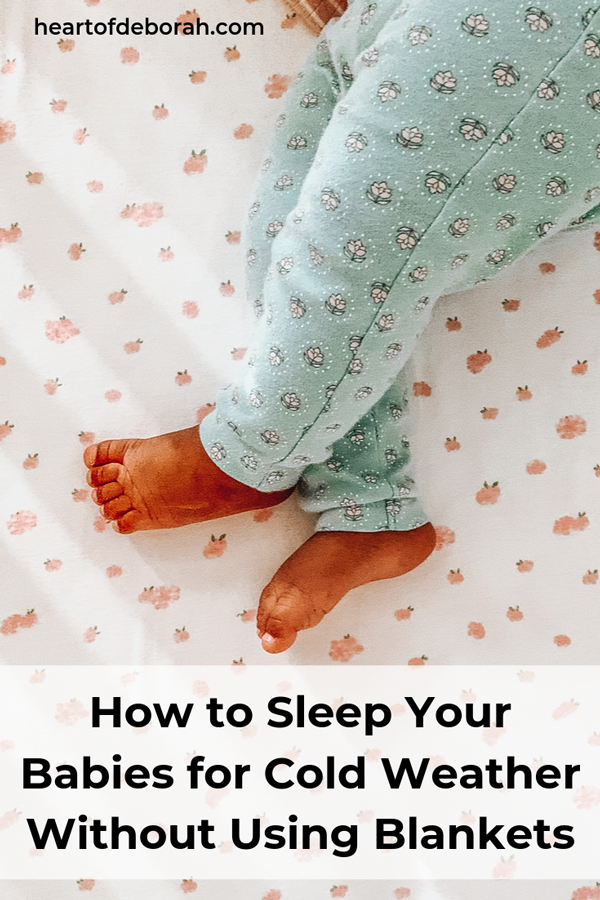 Clever ways to keep your baby or toddler warm at night without needing a blanket! Create a safe sleep environment for your baby.