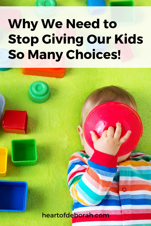 Want to raise independent, successful kids? What is the best way to do this? Why you may want to consider your role as the parent and how too many choices can hurt our kids!