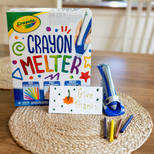 We love the Crayola crayon melter! Don't waste broken crayons, but reuse them to make new art.
