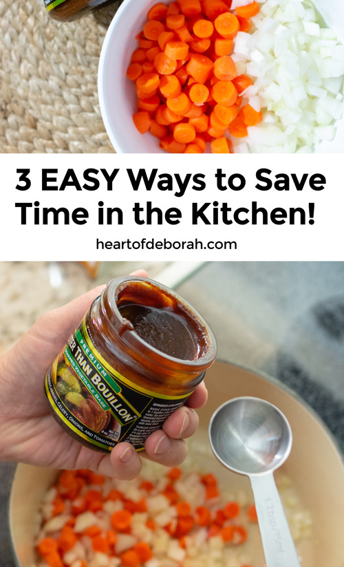 Looking to save time in the kitchen without sacrificng healthy meals? Check out these 3 tips to save time cooking.