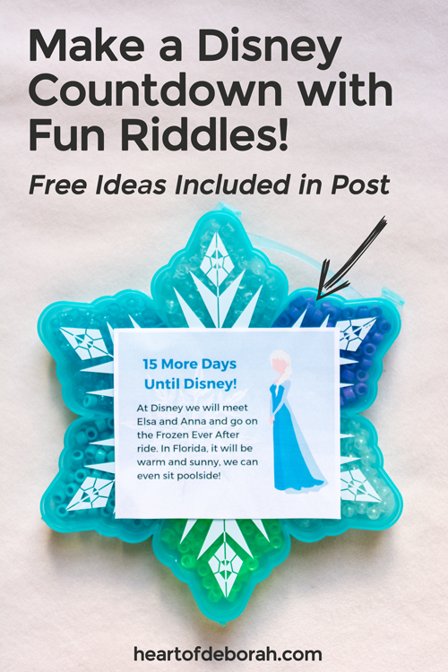 Use fun riddles and rhymes to get your kids excited for their first Disney vacation. Examples are included in the post!