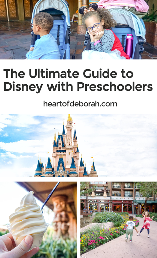 Make your first trip to Disney World a smooth one with this ultimate guide to Disney with Preschoolers. Tips to help you plan plus the best rides for young kids.