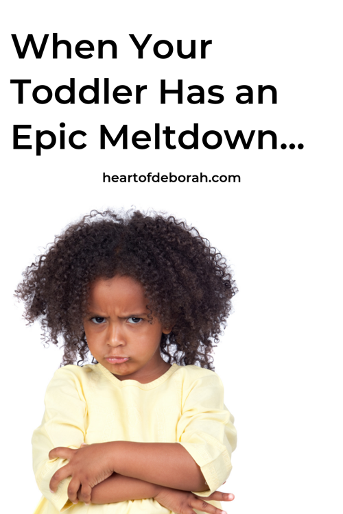 We've all been there! Toddler tantrums are no fun, so how can we deal with them without losing our minds!? Parenting tips for toddlers.