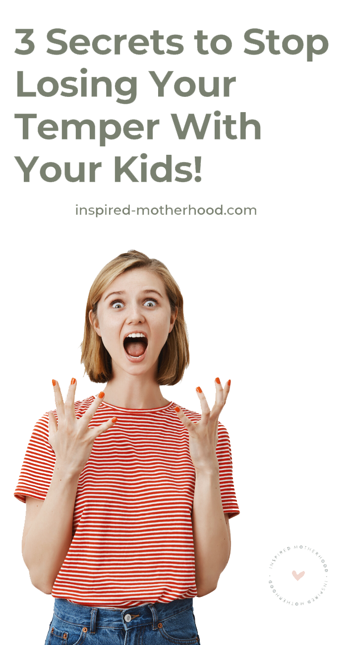 Have you everlost your temper with your children and felt terribly after? You don't want to negatively affect your kids, but yet you can't seem to losing patience. Here are threeways to start recognizing your big emotions and stop losing your temper.
