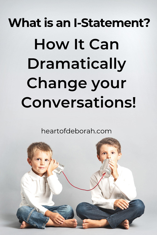 Encourage positive conversations with your kids by teaching them to use I statements. They can learn to communicate effectively with this vital social skill.