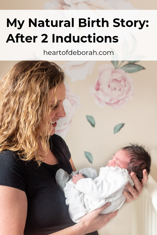 I was induced for my first two pregnancies at 42 weeks. This time I was able to birth naturally without induction! Read my birth story.