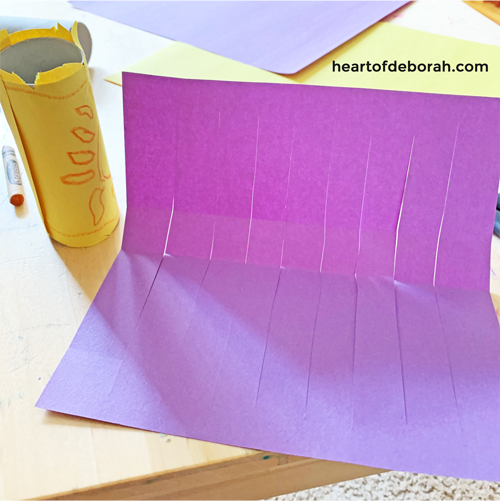 Easy directions to make your own DIY paper lanterns! What a fun and easy kid's craft.
