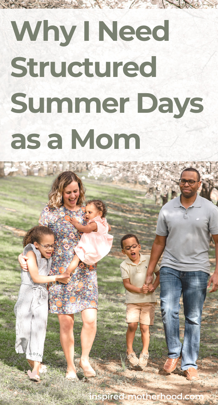 Have a fun summer with small kids at home by planning out your days! Here are 3 ways to create a summer schedule everyone will love.