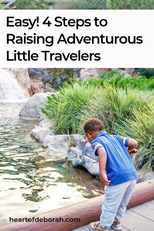 Raise adventurous little travelers with these practical family travel tips. You can raise children who love to travel at a young age.