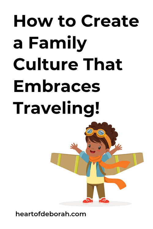Cultivate your child's imagination with travel. You can find simple ways to bring culture and travel in to your family's home. It doesn't mean you always need to go on the best vacation, you can take small simple steps to explore the world as a family.