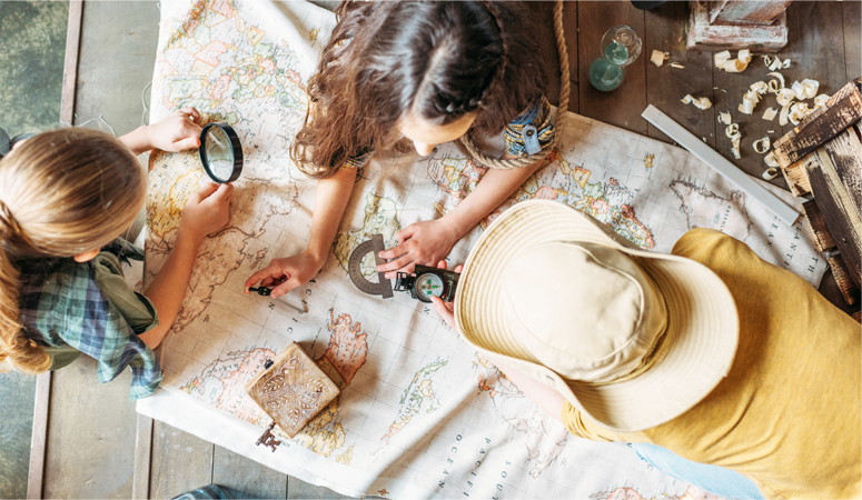 You don't have to stop traveling when you have small kids! You can go on vacation and raise children who love to travel with these 4 easy tips.