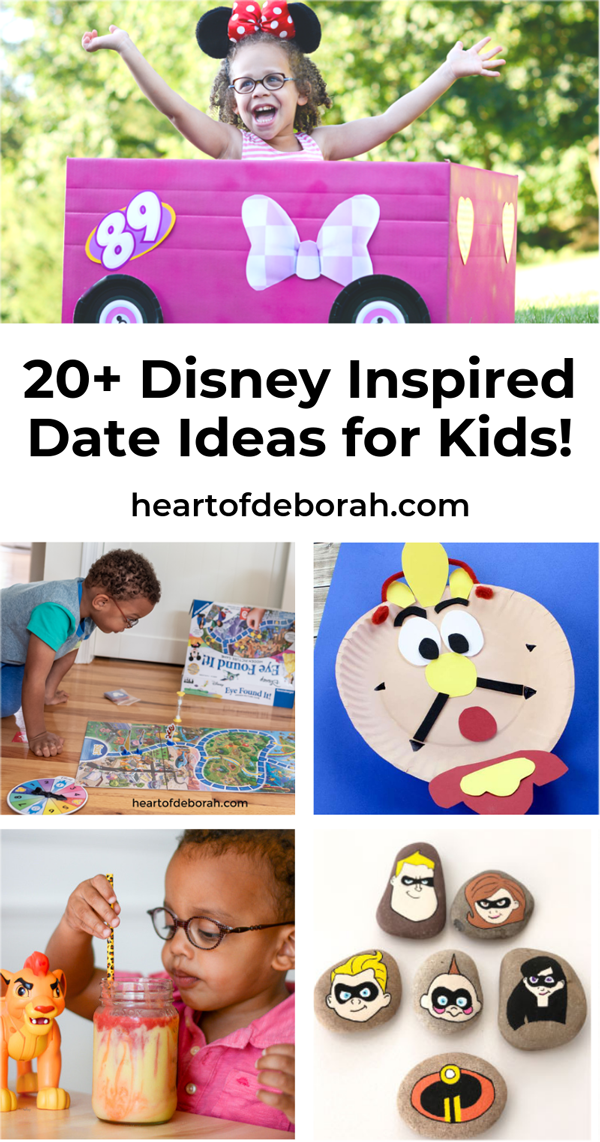 Looking for quality time activities to do with your kids? Here are over 30 date ideas, activities and crafts to do together as family!