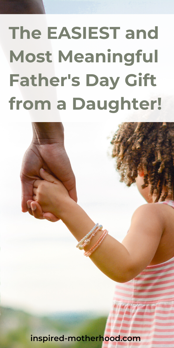 Do you have a daddy's girl? Help your daughter write a dear daddy poem for Father's Day! It's the perfect meaningful Father's Day gift.