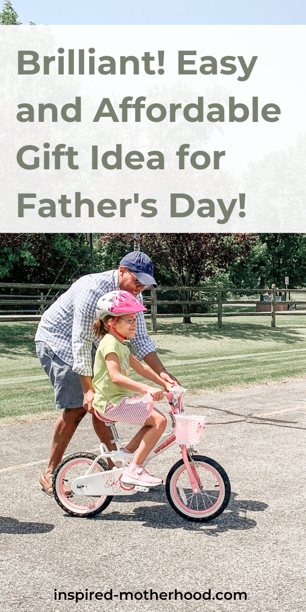 What a great Father's Day gift idea. This won't cost you anything! Write a dear daddy poem with your children's input. Every father will love this.