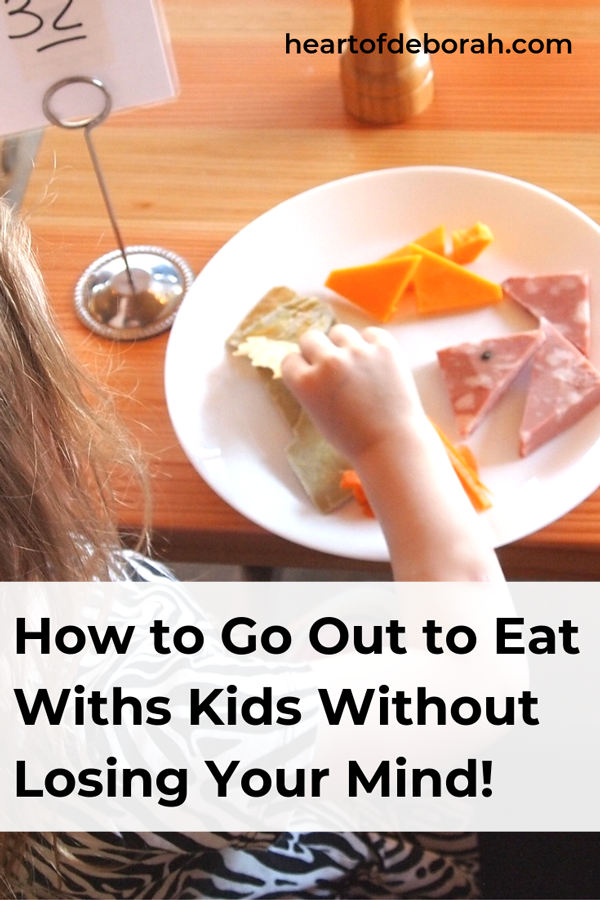 Dining out with kids doesn't have to be hard! You can go to kid friendly restaurants and enjoy your time as a family.