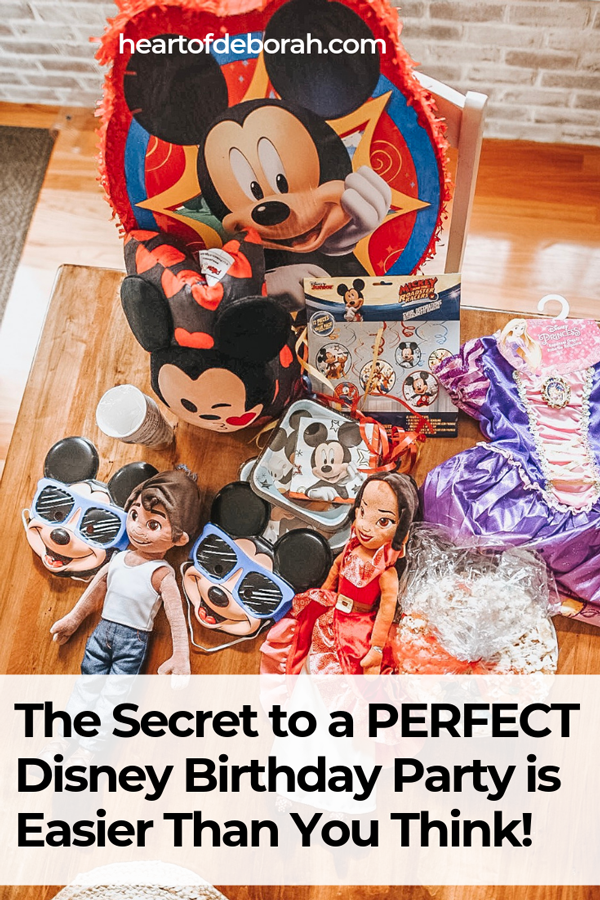 What do you need to consider when throwing a themed kid's birthday party? This post shares all the details, tips and tricks to throwing a super fun Disney birthday party for your kids.