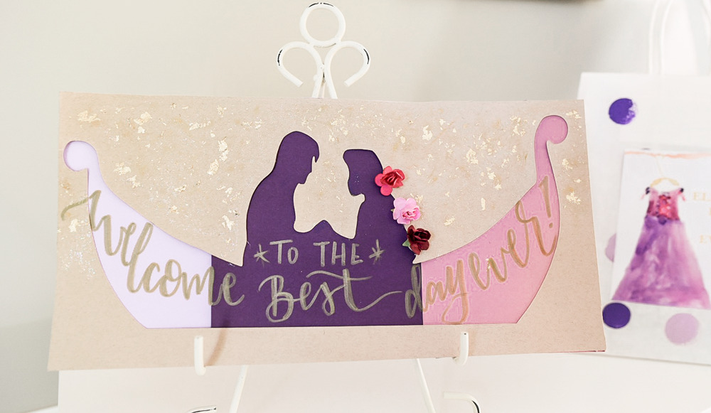 Our daughter loves arts and crafts so we threw an artist birthday party. With extra magical touches like Rapunzel and canvas kids crafts check it out.
