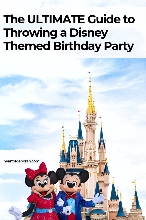 Obsessed with Walt Disney World? Throw an easy Disney birthday party for your kids with these easy tips and tricks!