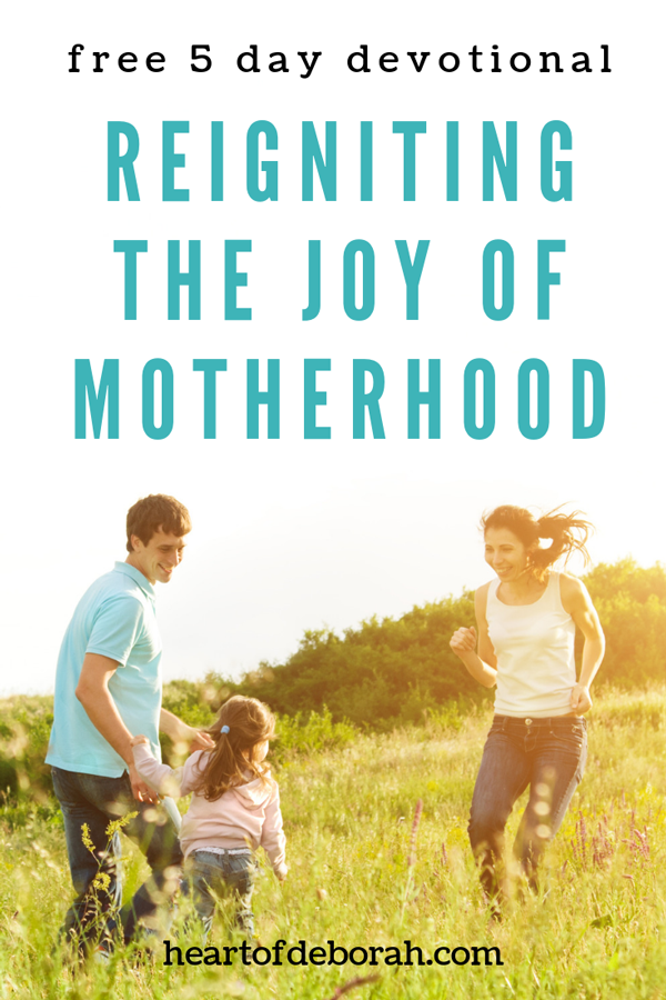 Motherhood is hard. But you can thrive in motherhood right now! Read this awesome 5 day devotional for mothers and be encouraged in your journey in parenting.