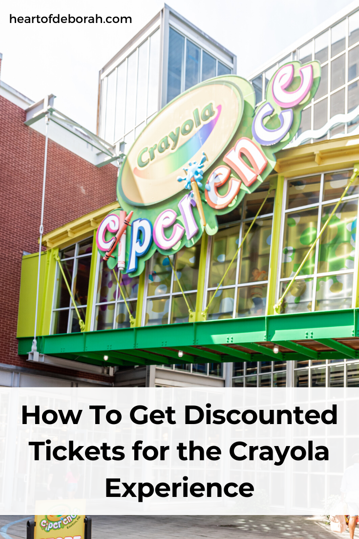 The best way to get affordable tickets to the Crayola Experience. Tips for buying annual passes or one day tickets.