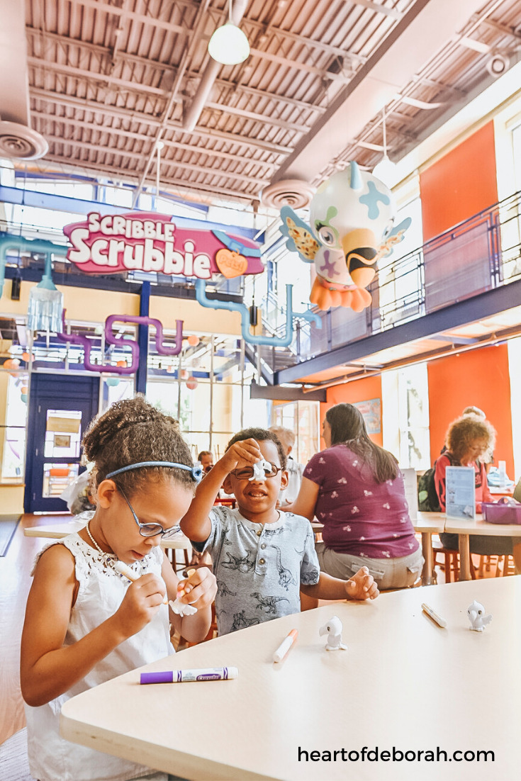 The crayola experience is a great family fun outing. You can purchase discounted tickets here and enjoy making art as well as learning how crayons are made.