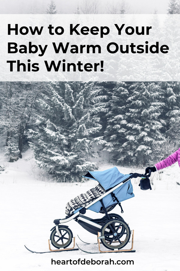 Learn how to keep your baby warm when you step outside this winter. Whether you are traveling by car or stroller you can keep your little kids cozy!