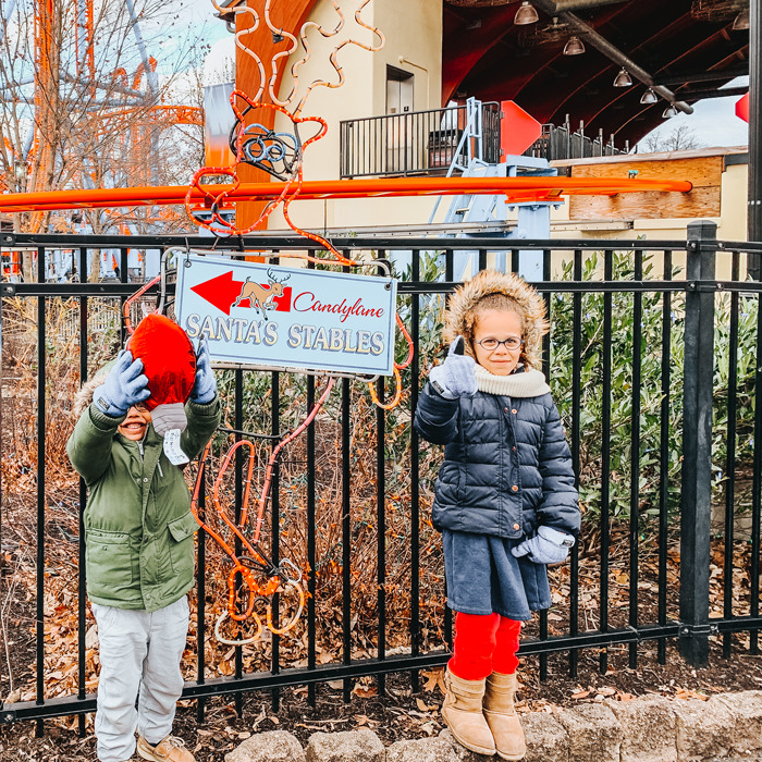 Hershey Park's Christmas Candylane is perfect for families with small children. A fun weekend trip!
