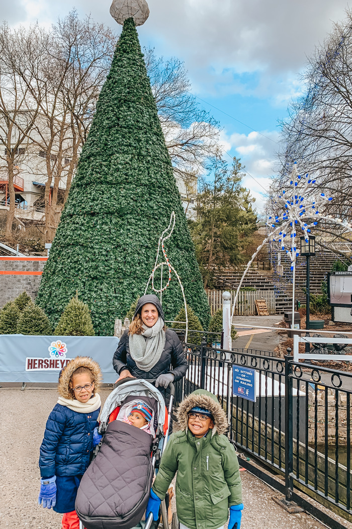 Hershey Park Christmas Candylane is so fun with kids! A great way for your family to celebrate Christmas and possibly a Christmas Family Tradition.