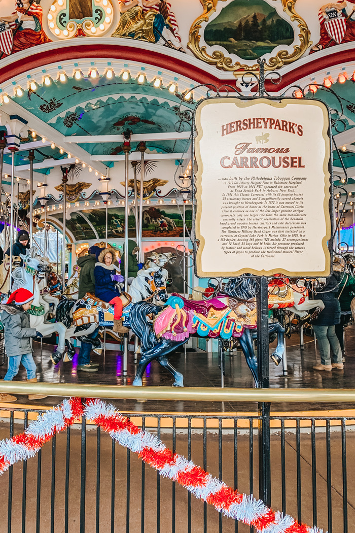 Hershey Park's Christmas Candylane is the perfect family fun tradition for the holidays. Your kids will love all the rides and the magnificent light displays. A great family day event for Christmas.