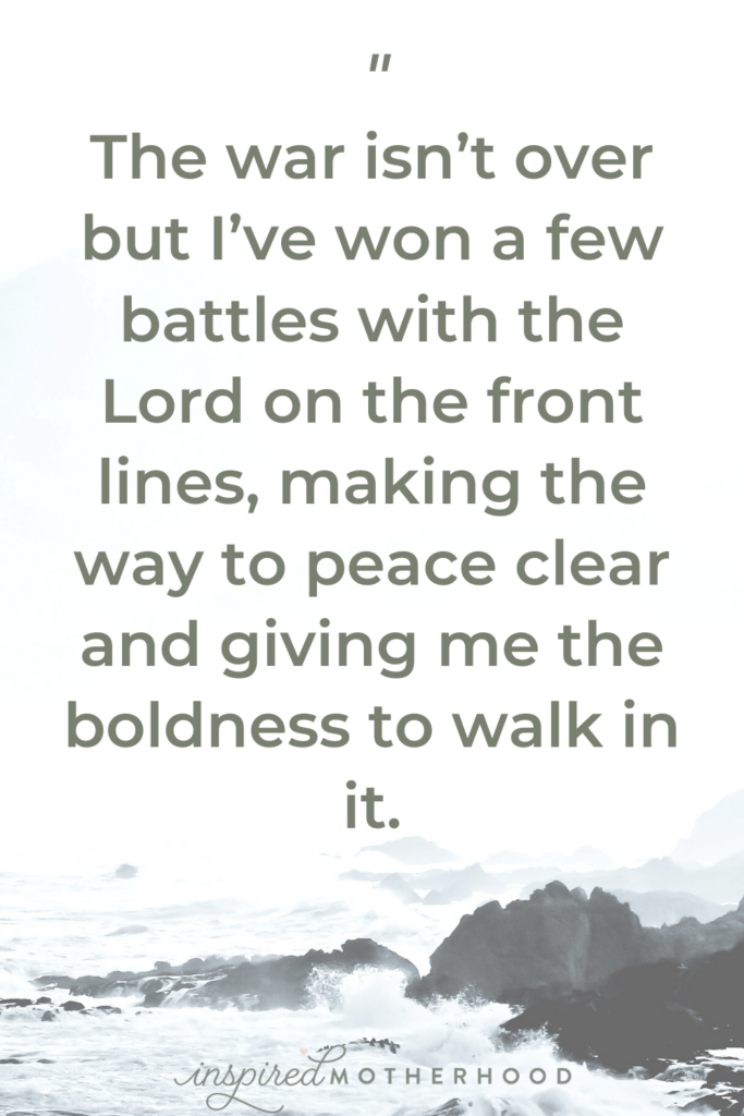 Not every day is a winning day, but praise God that in Him, final victory is assured. You can find peace with Jesus.