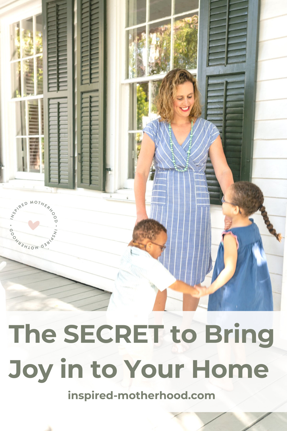 What is the secret to finding joy in your life? It's possible to find overflowing joy by following two things. Bring life, hope and laughter into your home with these tips.
