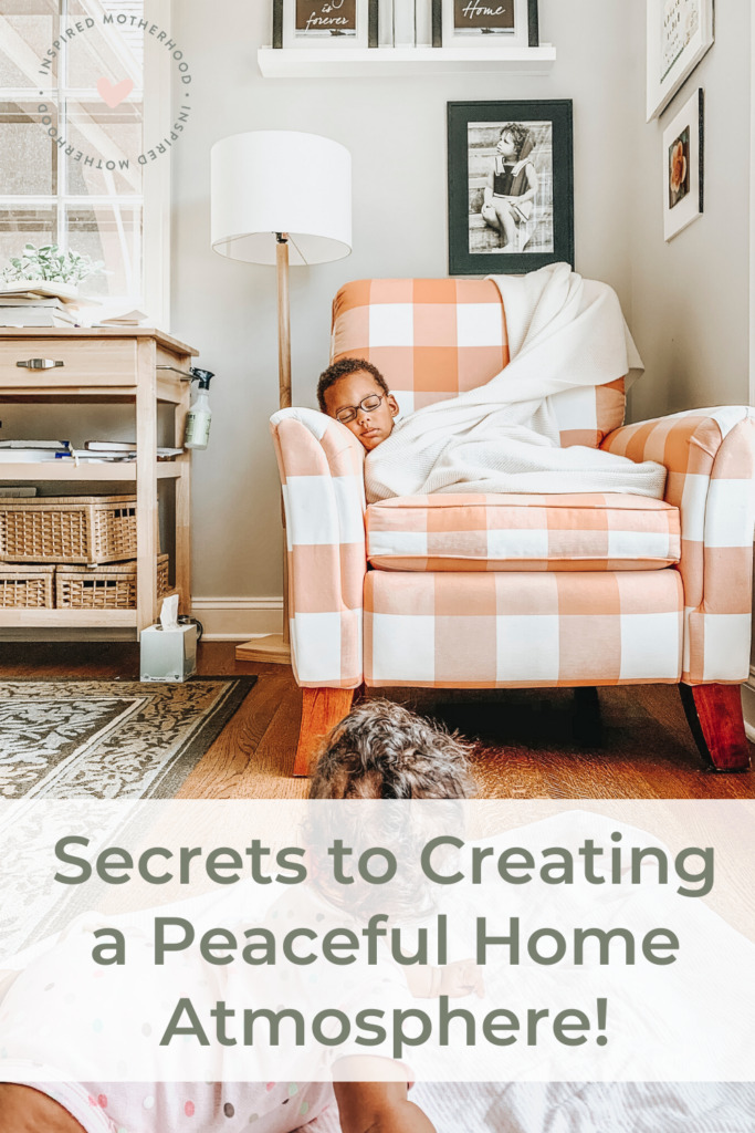 How can we change the atmosphere in our house? Follow this series to learn how to create a home overflowing with joy. A place where your family and guests feel love and grace.
