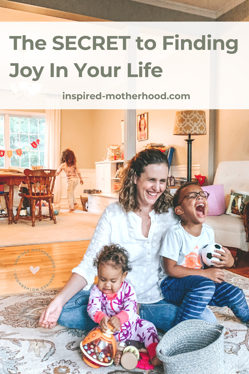Looking to find more laughter and joy in your life? Here are two great ways to add more joy into your home and your family!