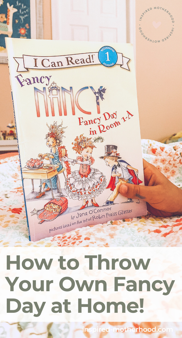 Do you have a daughter who LOVES Fancy Nancy? We decided to make our own Fancy Day at home with all things France. We ate French food, learned about Paris and had the best kids activities ever.