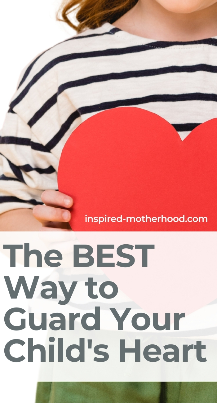The best way for parents to protect their children's hearts. Guarding your heart is so value and here are 3 tools to doing this for you and your family.