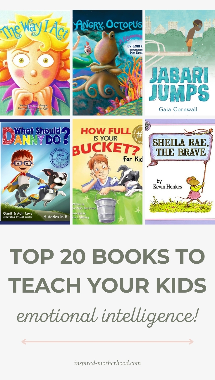 Must read books for preschool and toddler age children! Teach them social skills and social emotional skills with these 20 books recommended by a school psychologist.